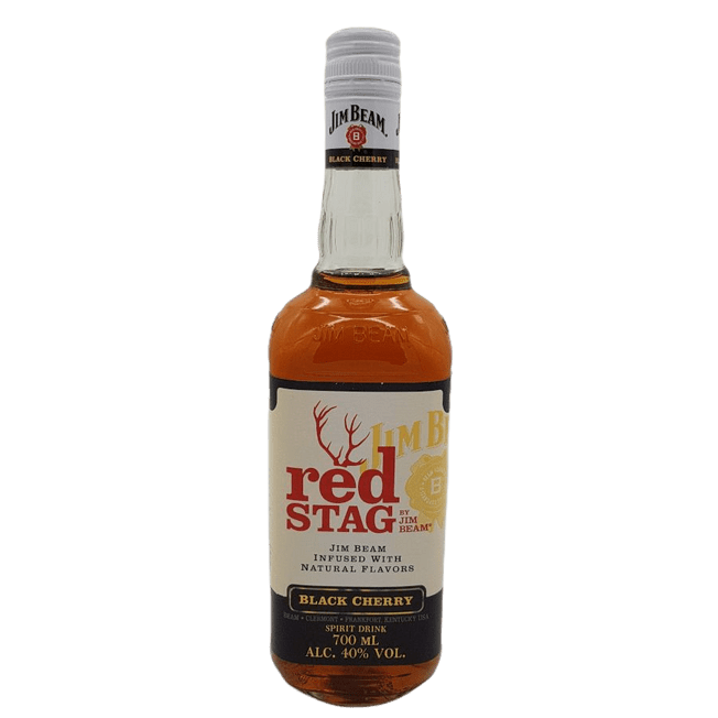 red STAG Black Cherry by Jim Beam